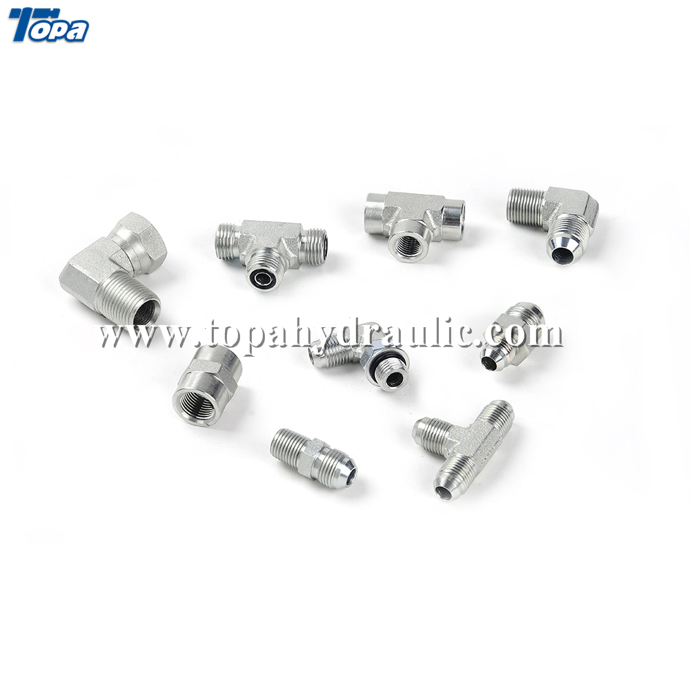 Good quality 3 Bsp Fittings - hydraulic bleed nipple male to male adaptator fitting –  Topa