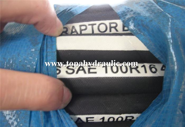 Gates JIc flexible hydraulic fitting oil hose