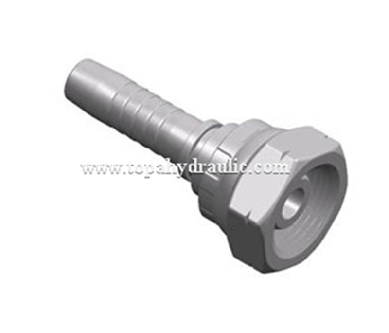 Factory wholesale Flat Face Hydraulic Coupler - 22111 Parker carbon steel tractor air hose fittings –  Topa