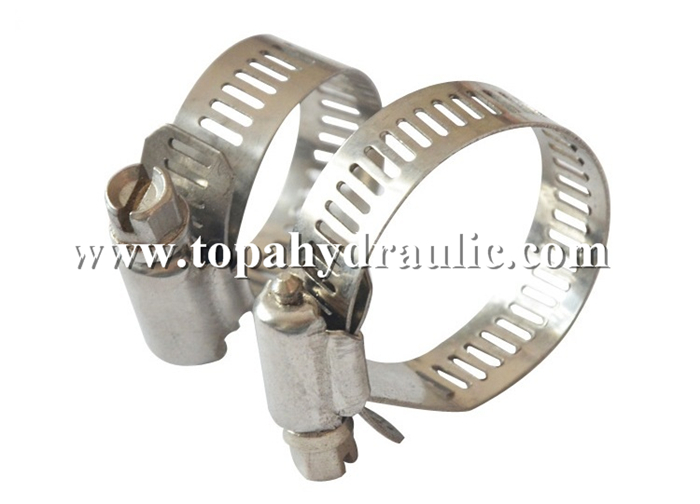 Stainless steel band narrow band hose clamps