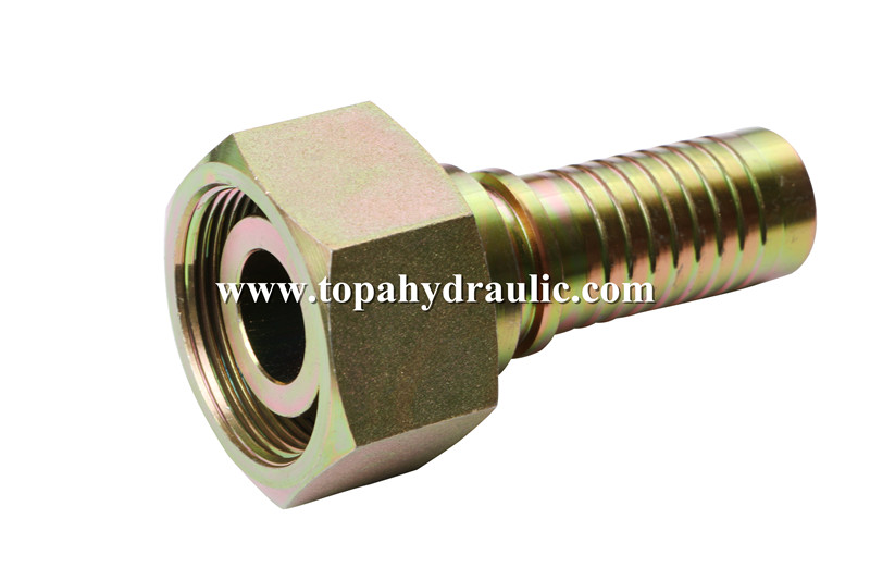 China Cheap price Npt Air Hose Fittings - 20511 Parker carbon steel tractor hose connectors –  Topa