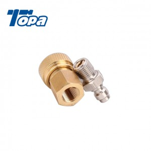 quick release pcp fitting male & female connect coupler fitting