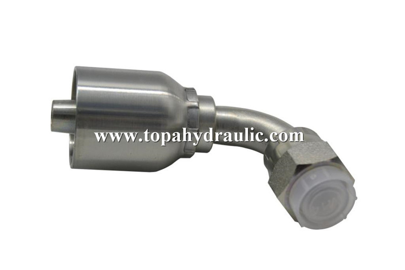 Well-designed Sae 6 Hydraulic Fittings - Popular brands Chrome Plate hydraulic hose crimping –  Topa