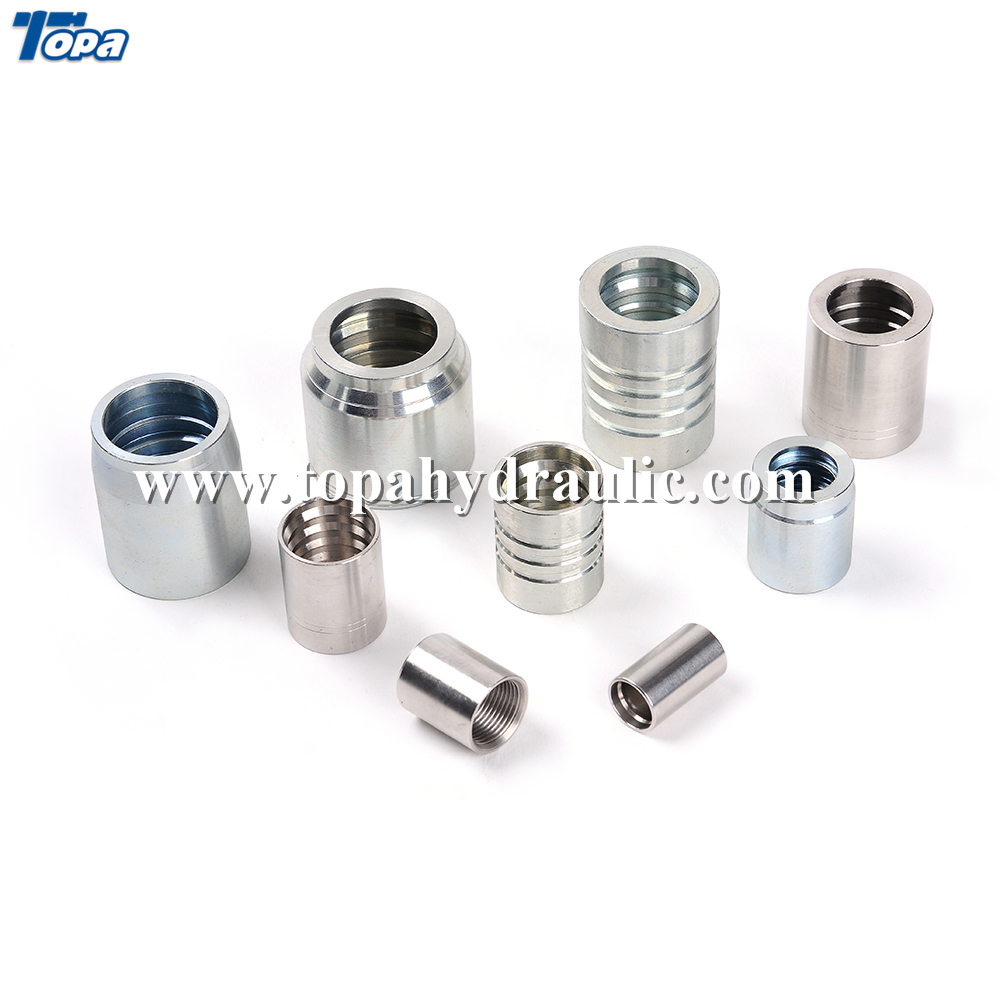 brass ferrule connectors hight pressure for hydraulic industry