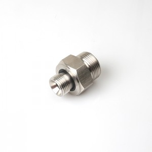 1cb-wd Pipes Hose Reducer Bsp Male Hydraulic Fittings Adapter Metric Male