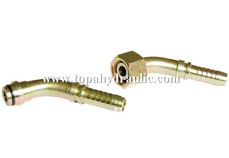 Factory making 10an To Npt - Flexible plastic double male hose connector –  Topa