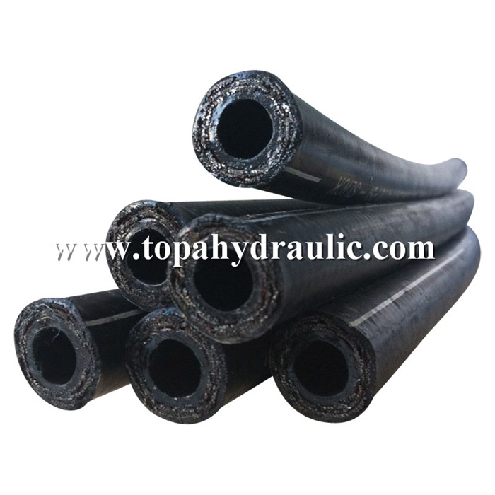 High pressure flexible rubber hydraulic hose pipe