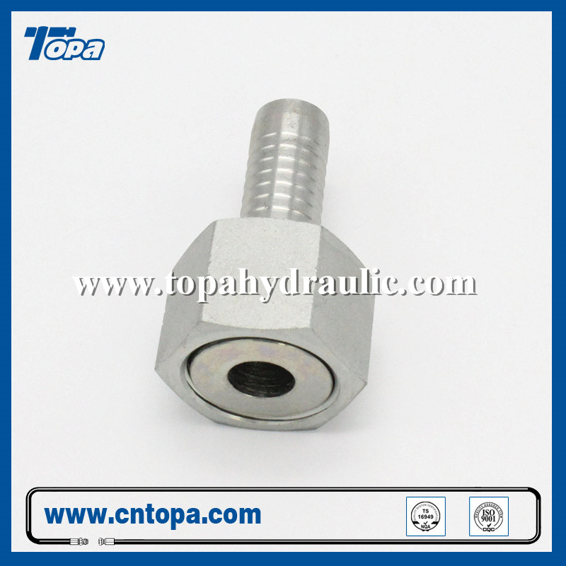 factory customized Stainless Banjo Fittings - tractor reusable standard flare mini hydraulic fittings –  Topa