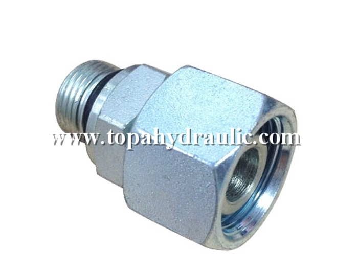 Leading Manufacturer for Bsp To Ght Adapter - aeroquip adapter hose parts hydraulic hose cover –  Topa