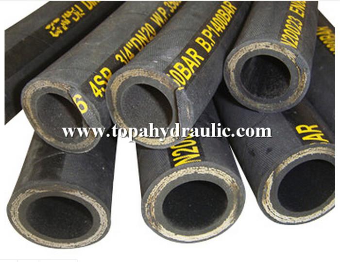 Flexible metal hose hydraulic parts rubber hose crimping