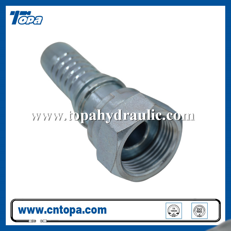 standard flare mini hydraulic tractor reusable fittings