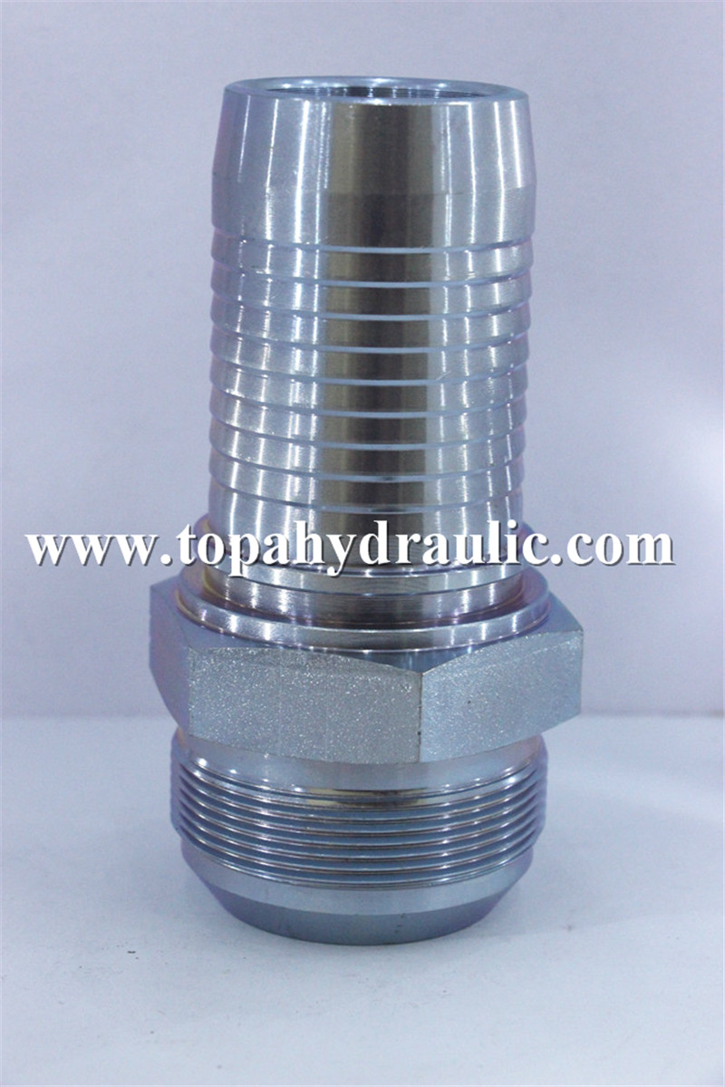 Excellent quality Parker Metric Fittings - 10711 aeroquip mild steel nitrogen jic fittings –  Topa
