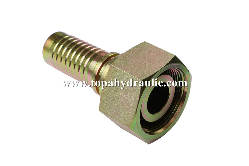New Arrival China Sae 37 Degree Flare - Metric reusable fittings universal hose connector –  Topa