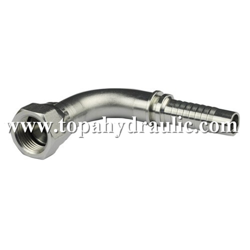 Faster custom coupler best an aeroquip hydraulic fitting