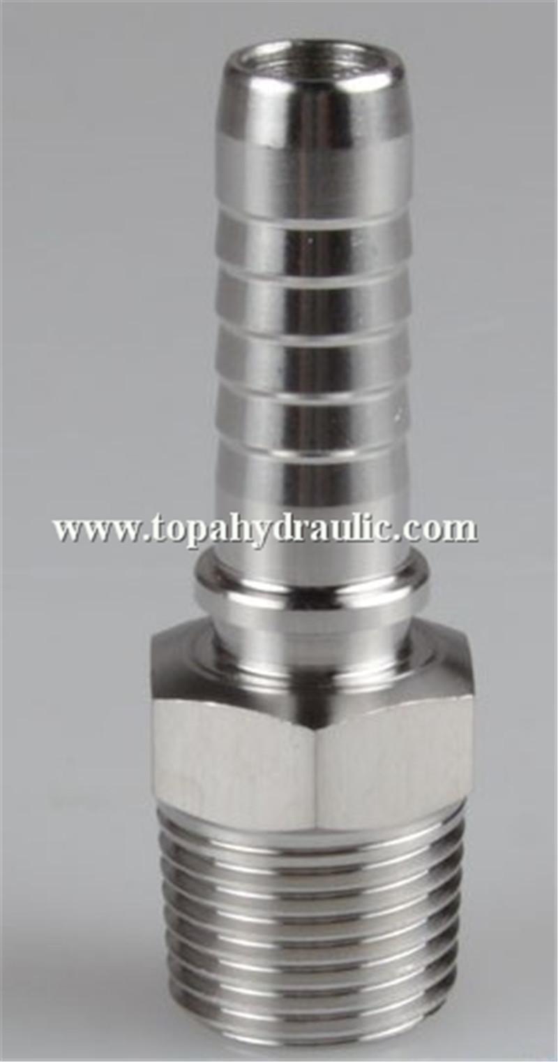 12611 Hose crimp BSP reusable hydraulic swivel fittings