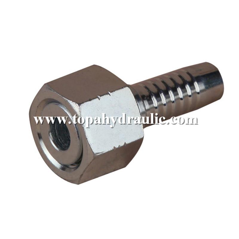 with Swivel Nut Steel hydraulic fitting tubing