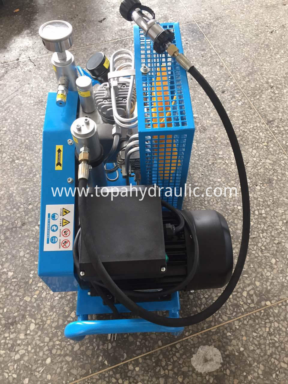 pcp electric screw mini 300 bar air compressor