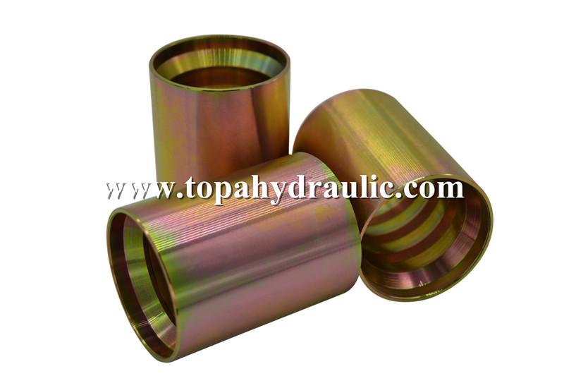 Competitive price zinc plating hose crimp ferrules