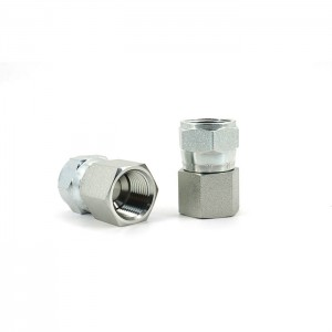 6506 npt female to jic fittings swivel nut end female pipe end fititngs