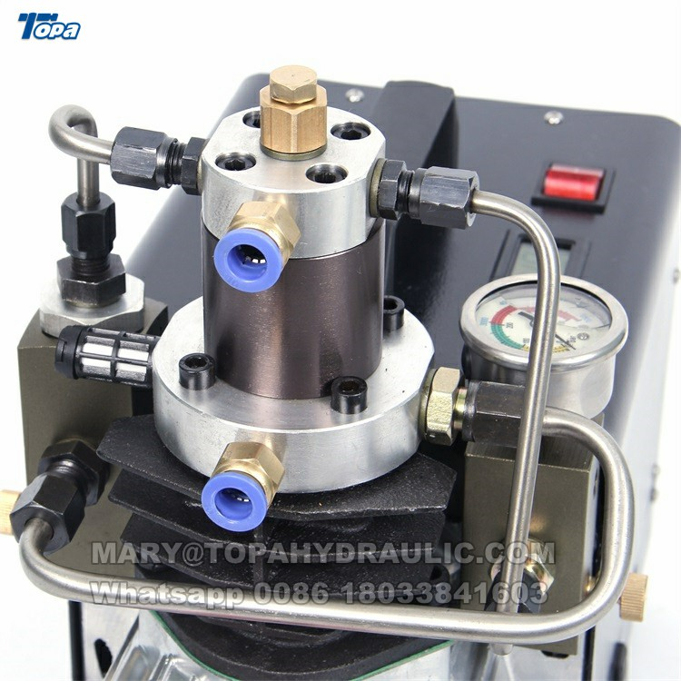 220V-240V 50HZ wild PCP rifle hunting 30MPa 1.8KW water cooled hpa compressors