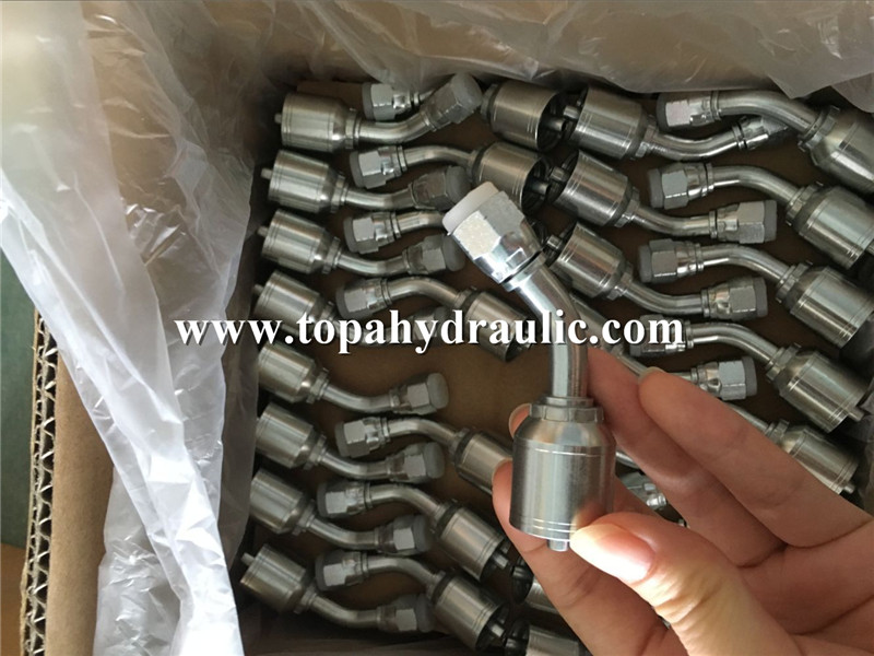 PriceList for Parker Flange Adapter - Steel hydraulic connectors JIC hyd fittings –  Topa