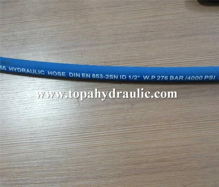 Flexible hose hydraulic pump water air hose