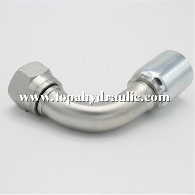 Cheapest Factory Goodyear Hydraulic Fittings - different types premade hydraulic hose couplings –  Topa