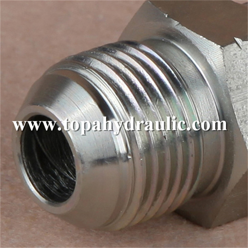 China Supplier Bsp Hydraulic Fittings - system hydraulic push tractor small ferrule fittings –  Topa