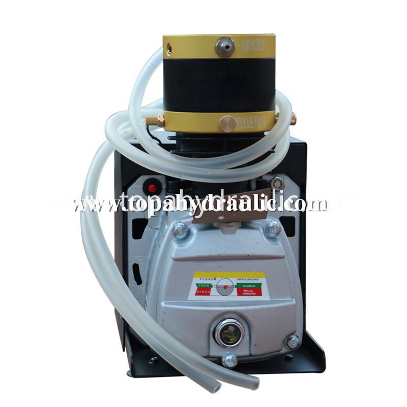 Mini electric paintball portable pcp air compressor