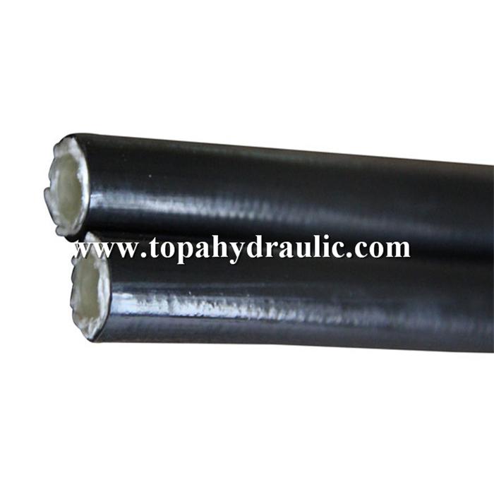 Gasoline propane oil hydraulic hose flexible pipe sae 100r7