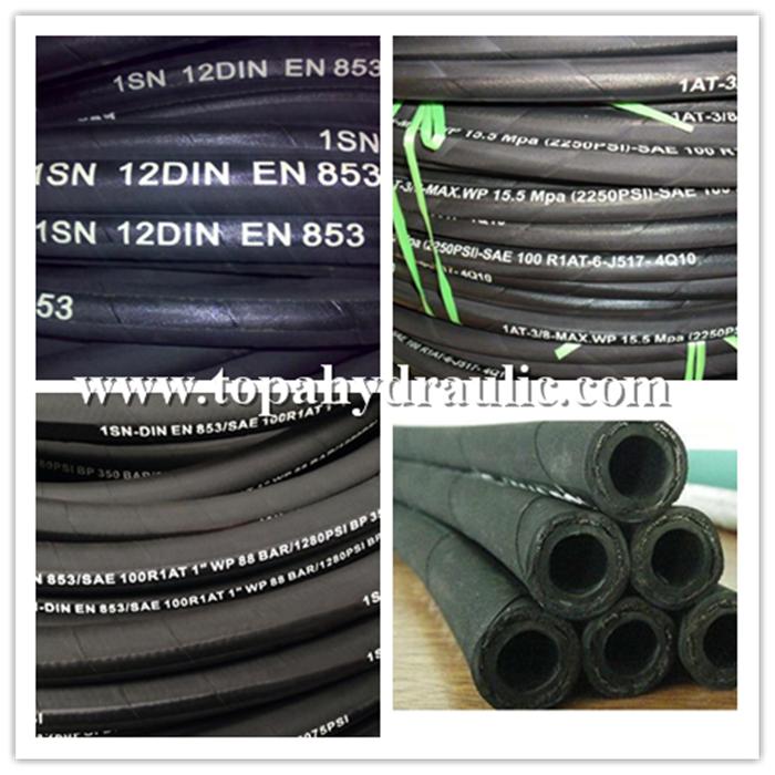 High pressure hydraulic lines tubing hose jic fittigns