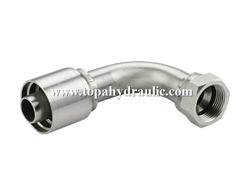 one piece industrial flexible hose Hydraulic Fittings