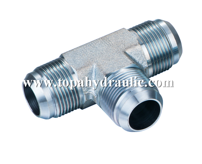Factory making Tees Union Fittings - Parker steel plug hydraulic system hose end –  Topa