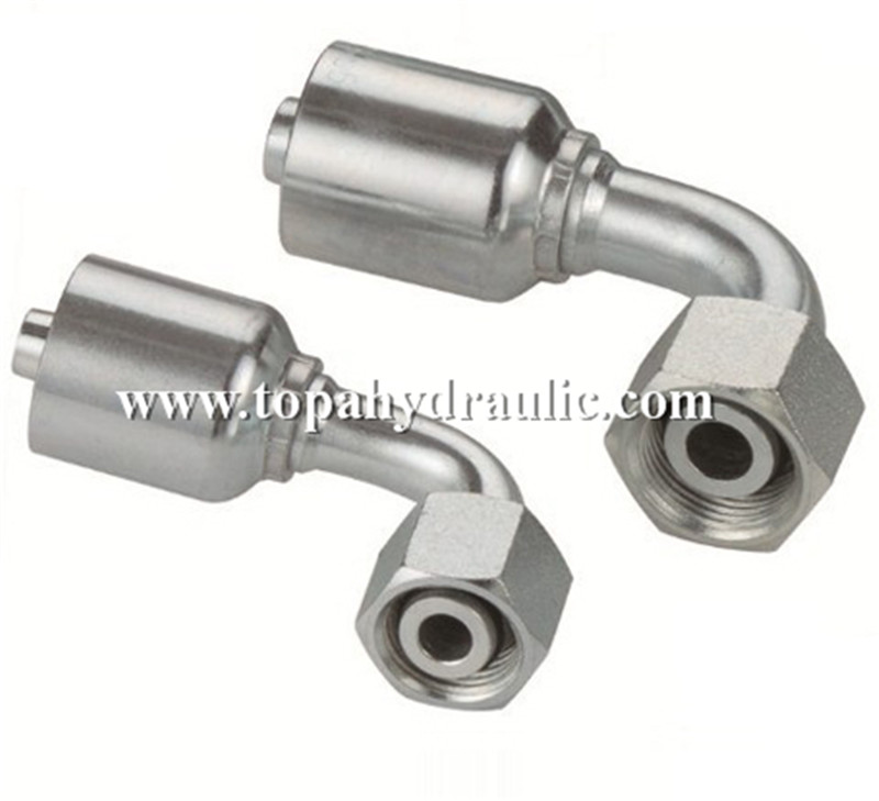 Replace Parker metric hydraulic hose fittings