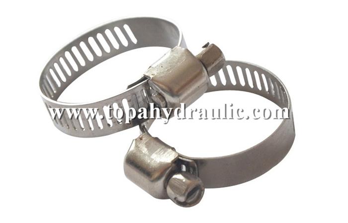Custom large clips thumb screw hose clamp