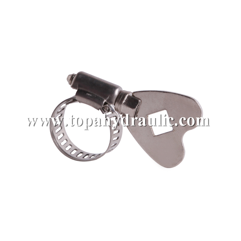 Reasonable price for High Pressure Fuel Line Clamps - Screw large worm gear pinch type hose clamps –  Topa