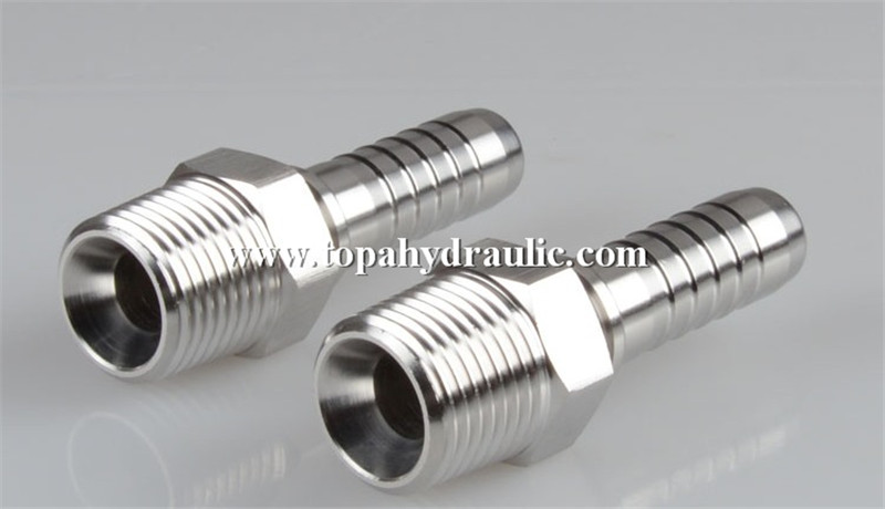metric reusable hydraulic swivel hose crimp fittings