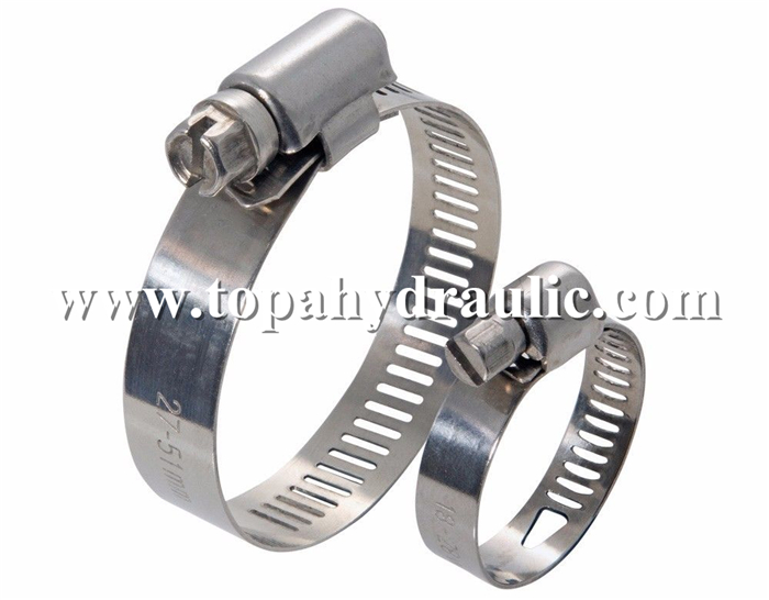 Spring tube band small hose worm hose clip