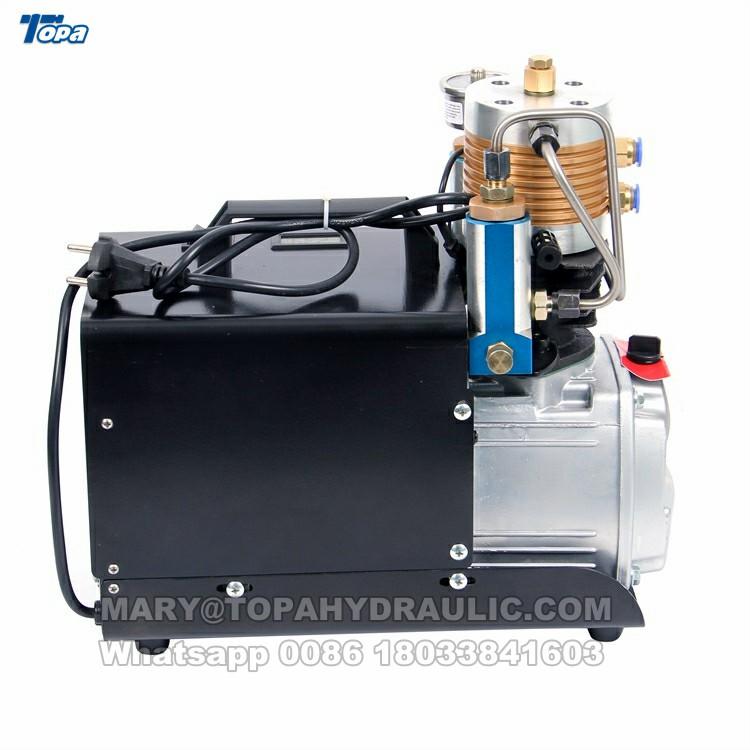 4500 psi high pressure electric air compressor 300 bar compressor car