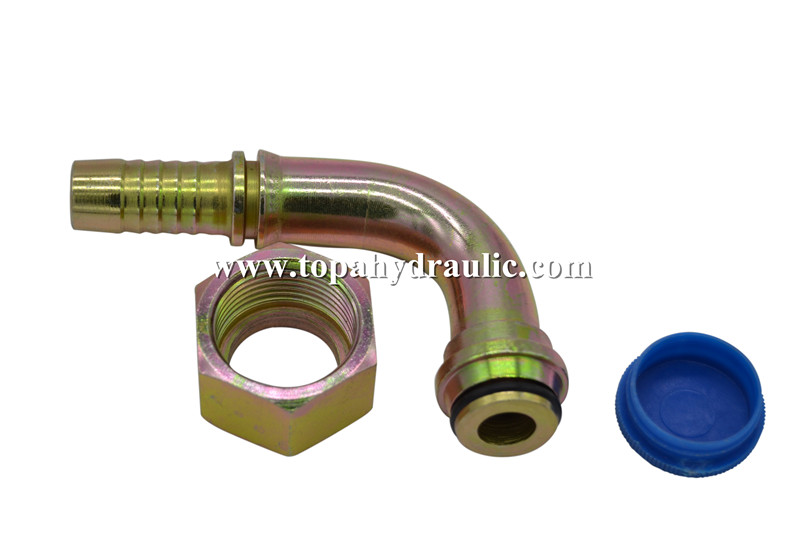 pneumatic hose brass parker reusable hydraulic fittings