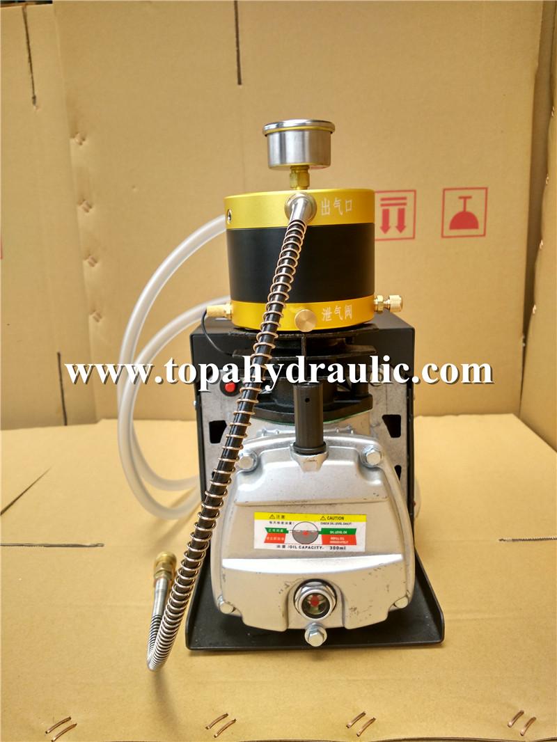 High pressure dive 3hp shoebox cheap air compressors