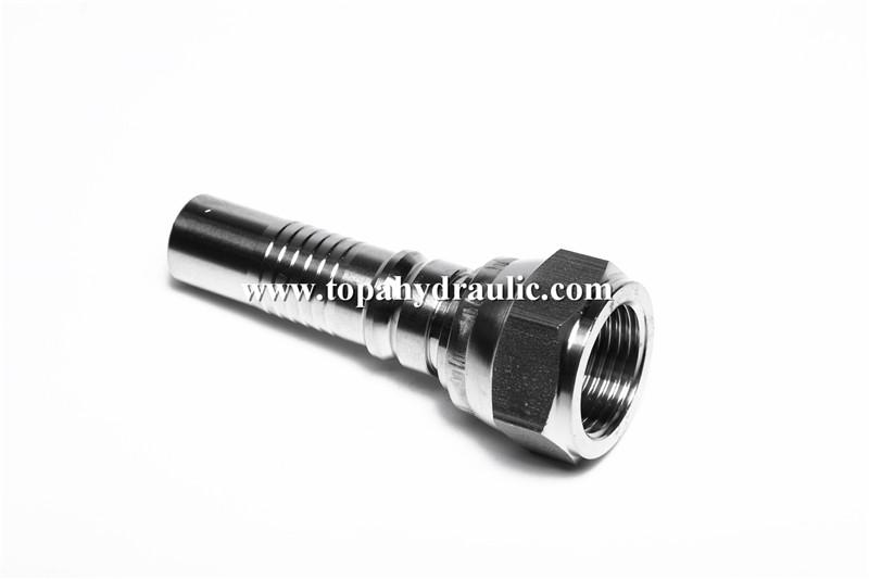 factory customized Jic To Hose Barb - Aroquip mild steel nitrogen jic fittings –  Topa