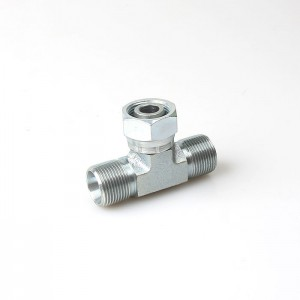 BC BD tee Zinc Coated Cone Seal Pipe Fittings stainless tee fitting Adapter