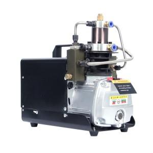 4500psi 300bar portable high pressure pcp air pump
