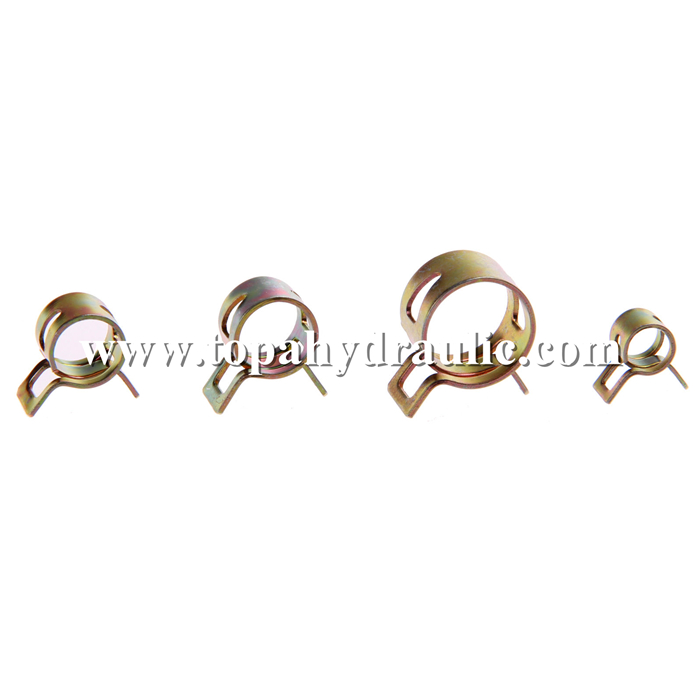 Stainless steel clips nylon hose clamps
