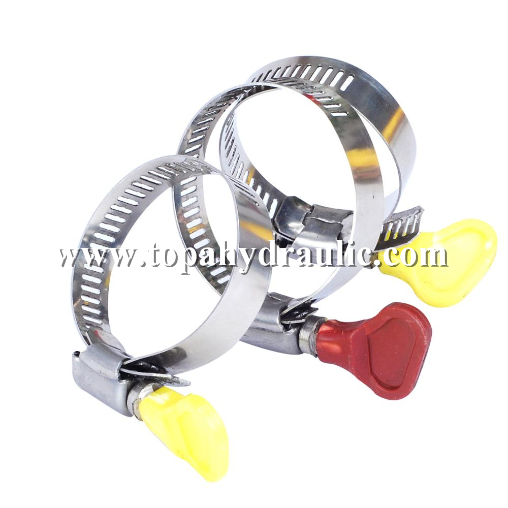 New Delivery for Quick Hose Clamp - Silicone hose 4 inch hose narrow hose clamps –  Topa