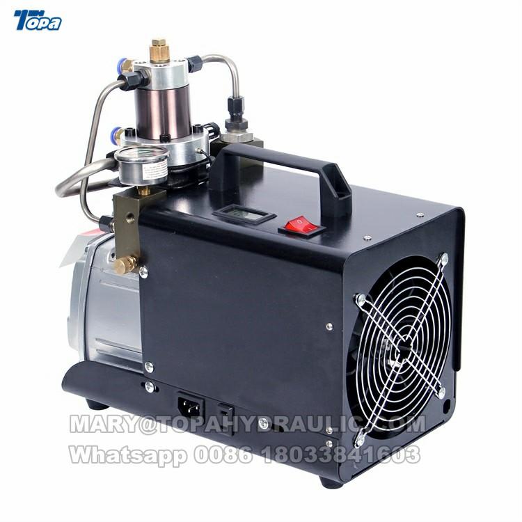 Gw 4500 psi high pressure air compressor pcp