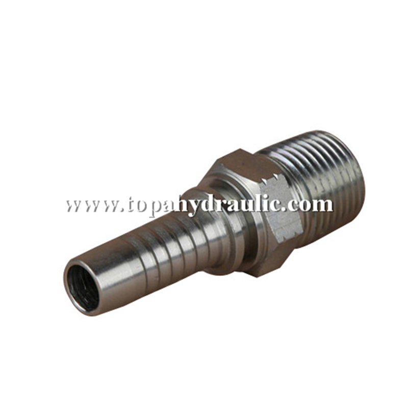 Npt hydraulic hose pipe connect