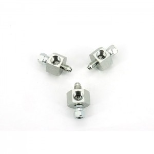 6574 JIC 37° Flare Swivel x 1/4 in Female Pipe Rigid galvanized fittings Testpoint Adapter