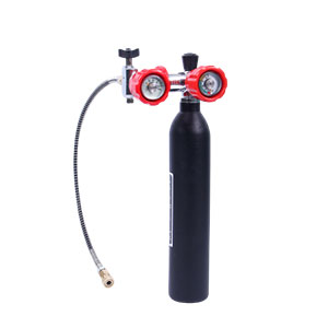 air cylinder with regulator